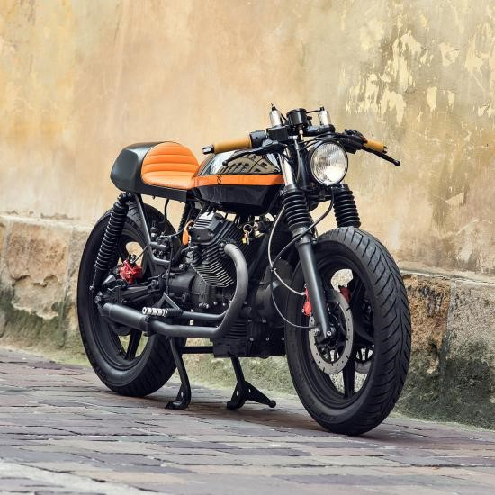 Moto Guzzi V6 ban do day ma thuat cua Ventus Garage - 3