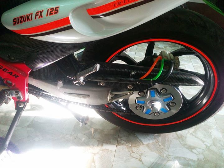 Suzuki FX125 do gap khung suon do chung to dan choi - 3