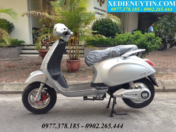 THONG BAO XE MAY DIEN VESPA NIOSHIMA 2016 DA CO HANG TRO LAI - 2