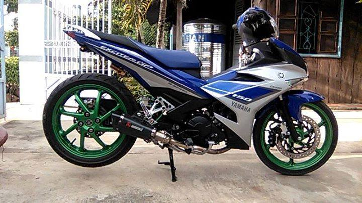 Yamaha Exciter do gap N them vai thu cu nhu moto