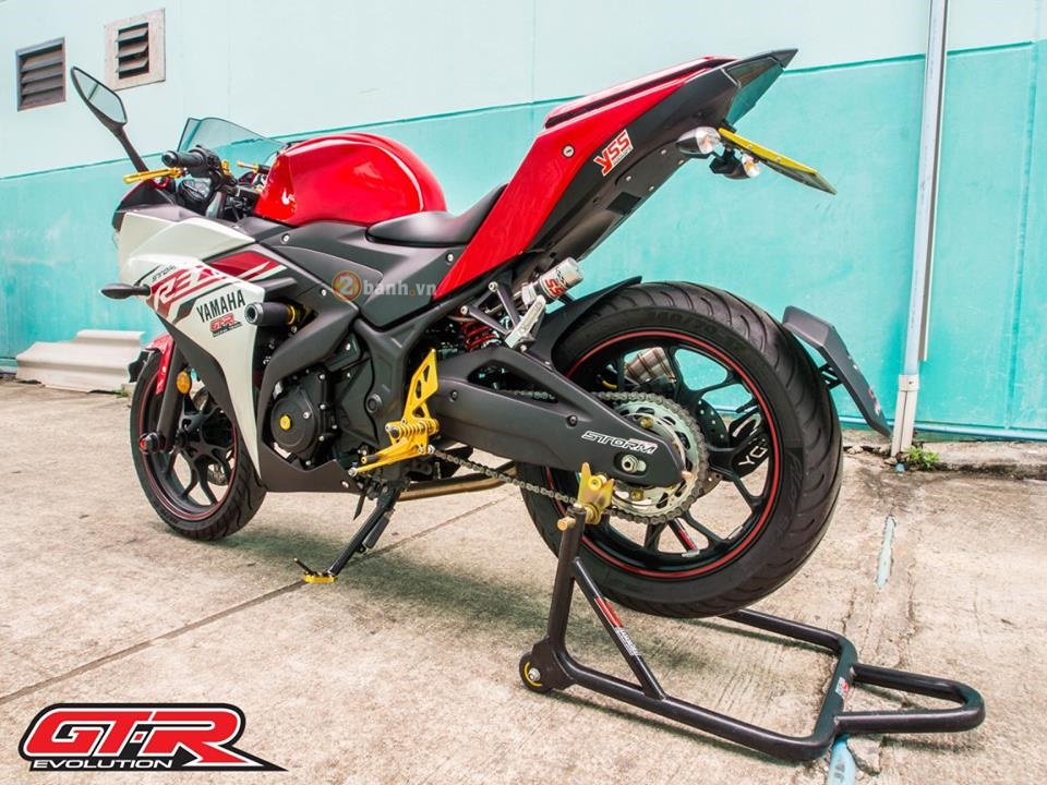 Yamaha R3 day phong cach voi ban do tu GTR Evolution - 10