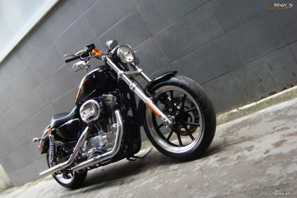 ___ Can Ban ___HARLEY DAVIDSON 883 Superlow 2014___