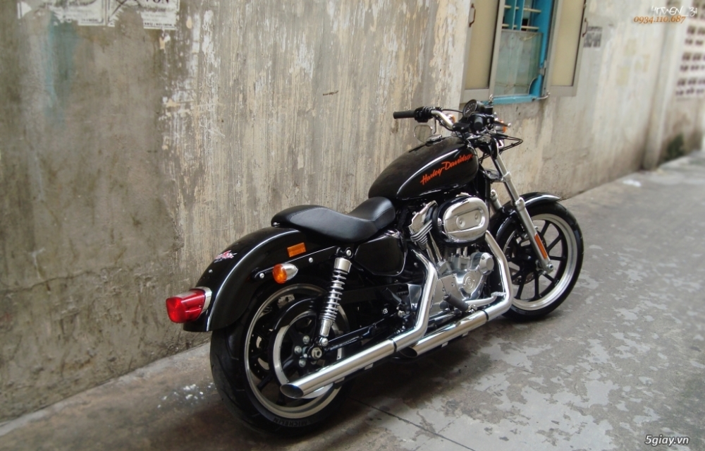 ___ Can Ban ___HARLEY DAVIDSON 883 Superlow 2014___ - 7