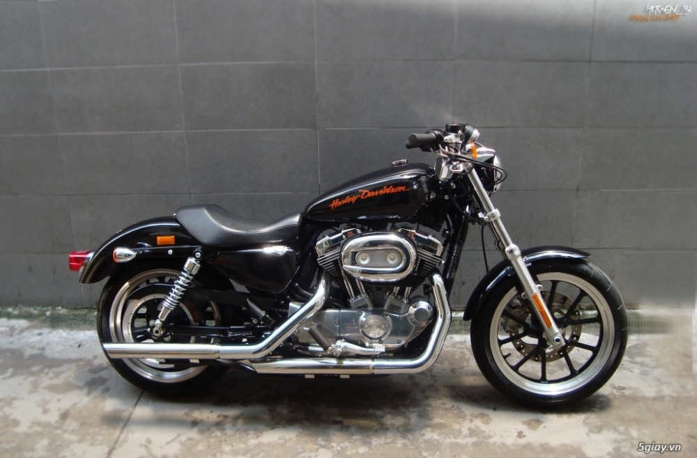 ___ Can Ban ___HARLEY DAVIDSON 883 Superlow 2014___ - 3