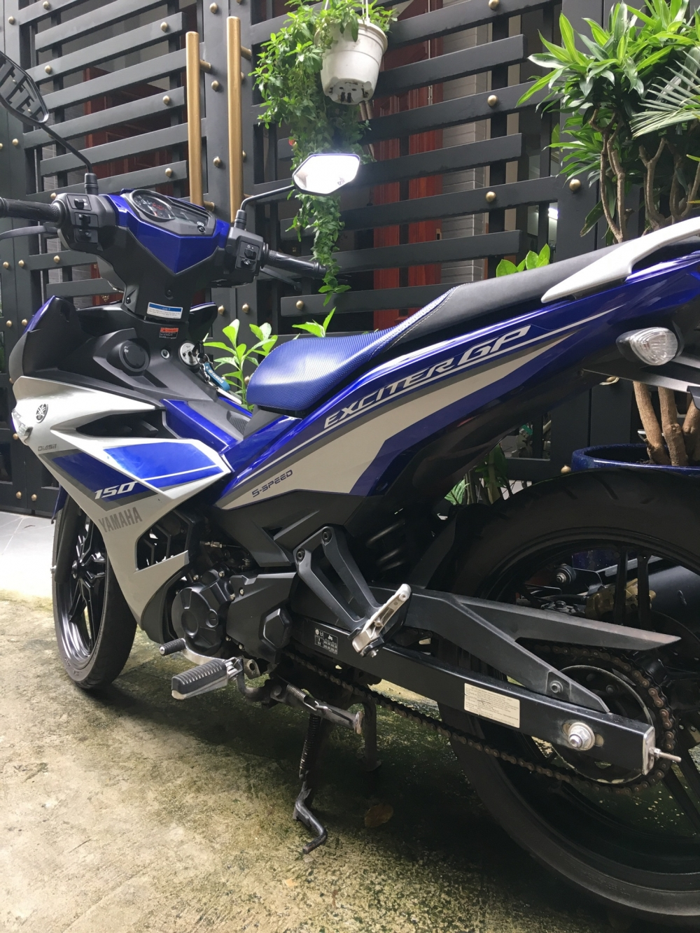 Ban Exciter GP 150 nhu moi dang ky cuoi 2015