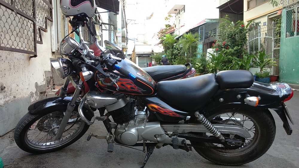 ban xe moto husky 150cc do dang rebell co dien - 5