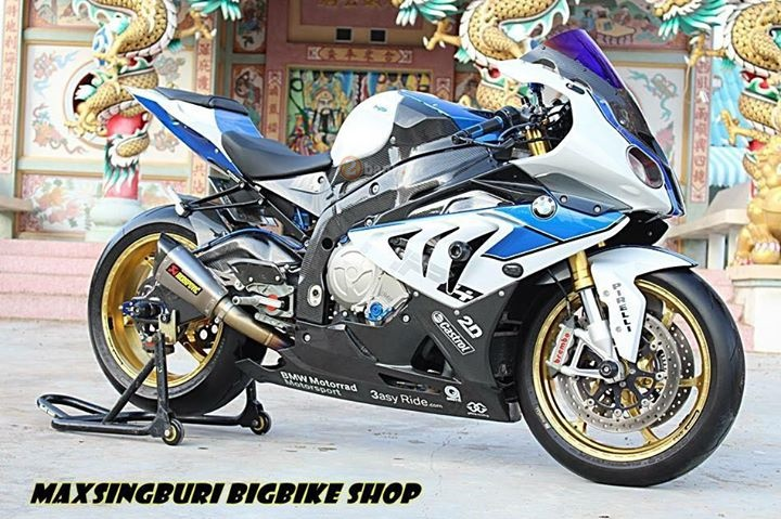 BMW HP4 voi net dep day xa xi cua dan choi Thai