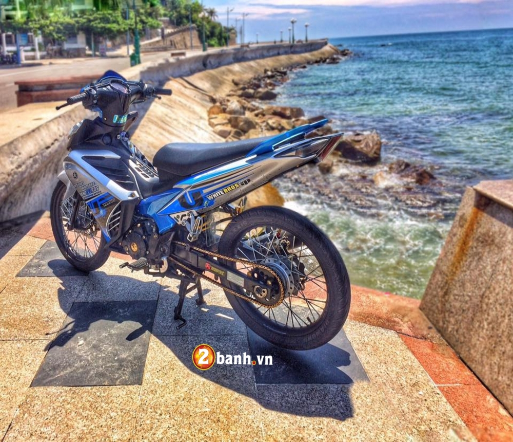 Exciter 135 don nhe tong xanh bien ca