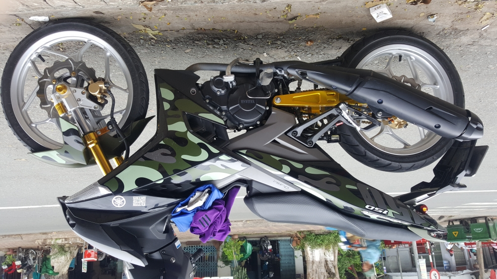 Exciter 150 camo don nhe - 12