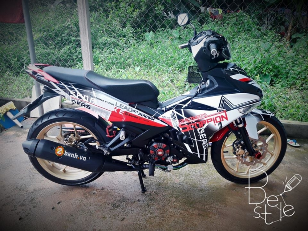 Exciter 150 do phong cach cung Bo Cap