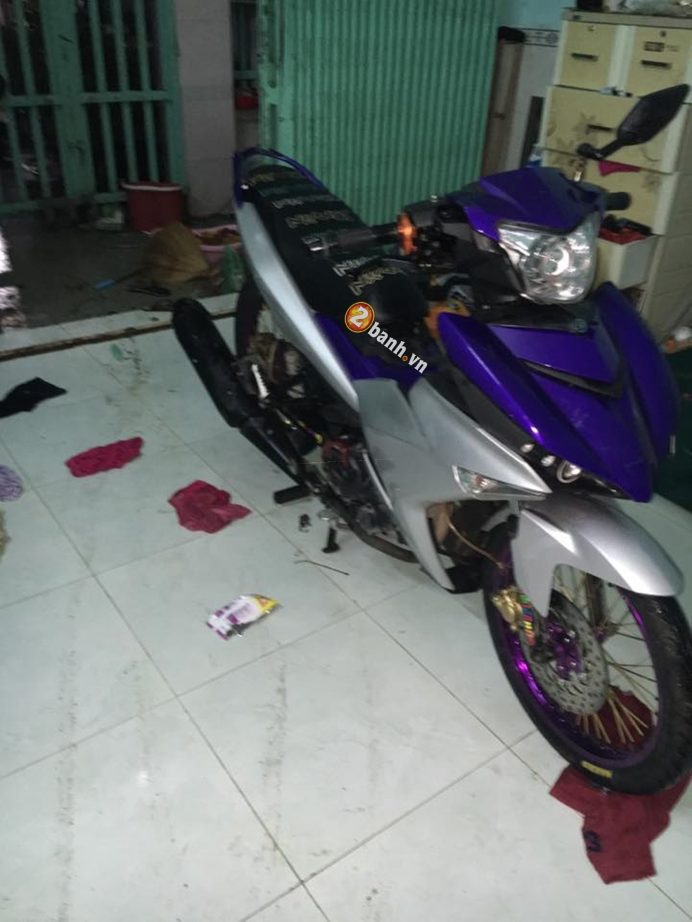 Exciter 150 don nhe cung banh cam - 4