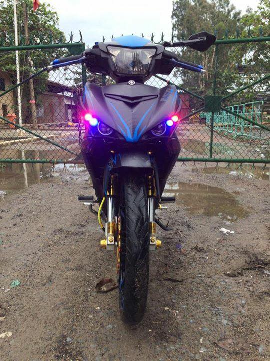 Exciter 150 don nhe voi dan chan cung cap - 3