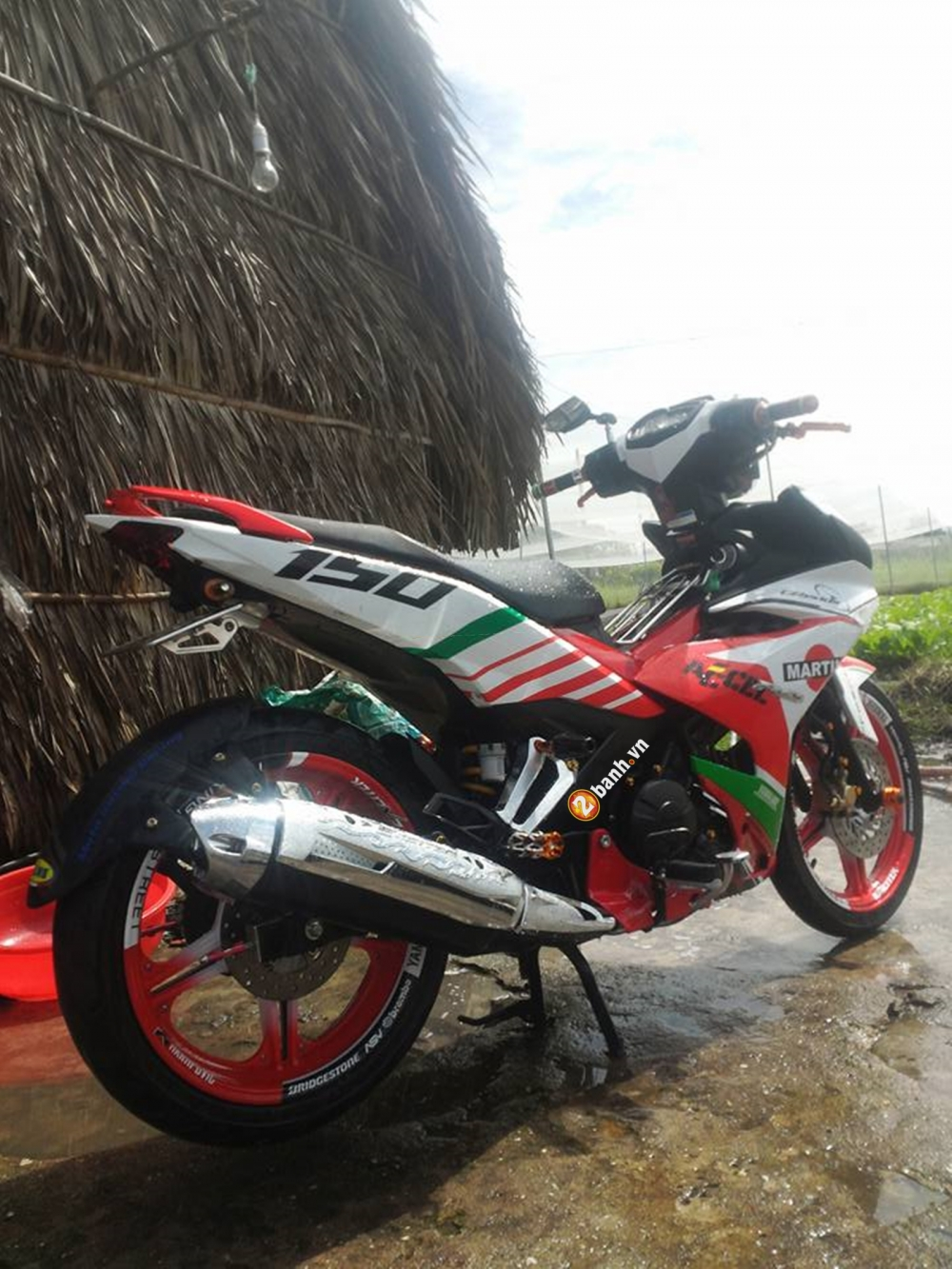 Exciter 150 nha tranh don nhe - 3