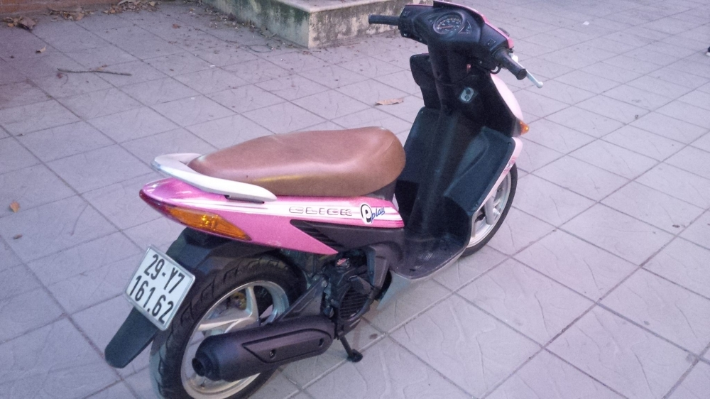 Honda Click Play mau Hong bien so dep 29Y716162