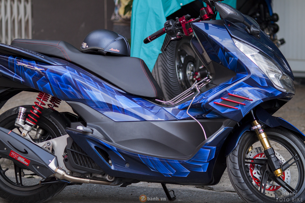 Honda PCX trong ban do 3D voi ten goi Never Say No - 19