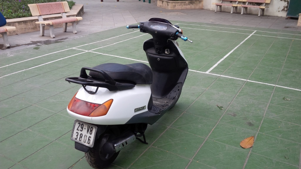 Honda SPACY Viet Nam mau trang may em ben it hao xang - 3