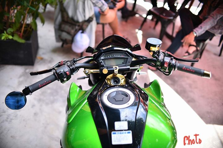 Kawasaki Z1000 don gan full do choi day hap dan - 3