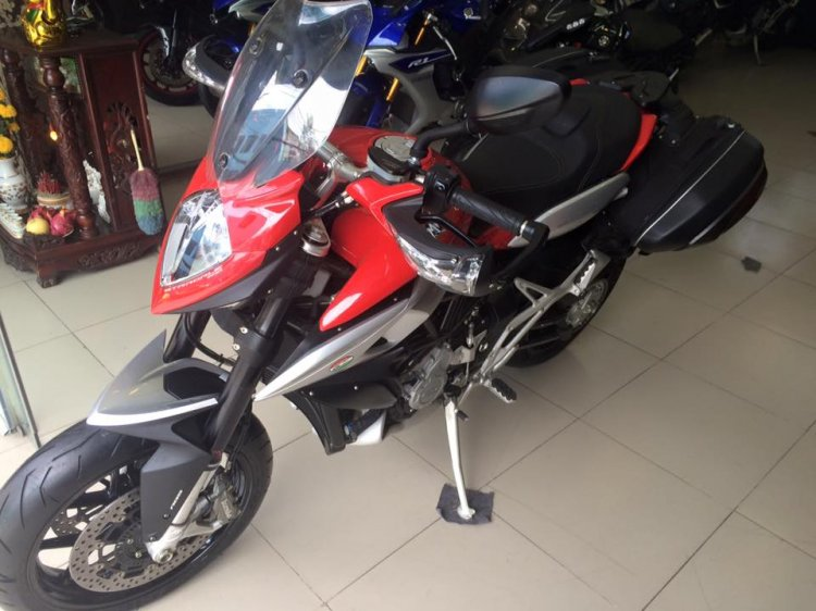 MotorKen can ban 2 e stradale 800cc xe thung chua no may chua do xang - 5