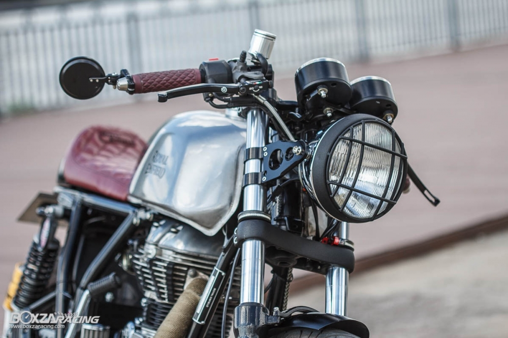 Royal Enfield Continental GT ban do dam chat bui bam va phong cach - 7