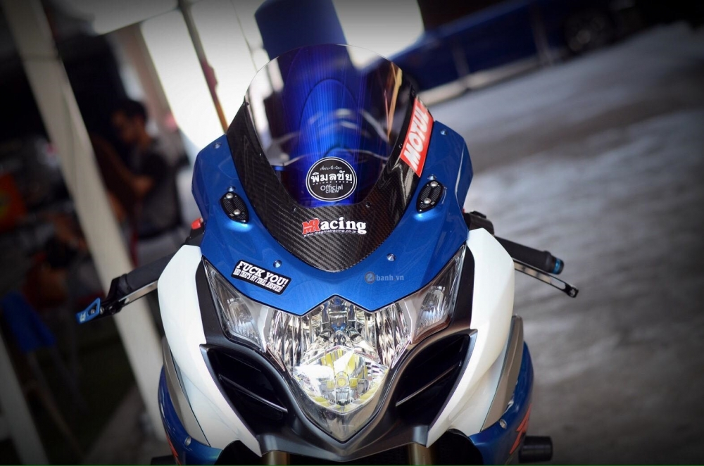 Suzuki GSXR1000 do day dang cap cua dan choi Thai - 3