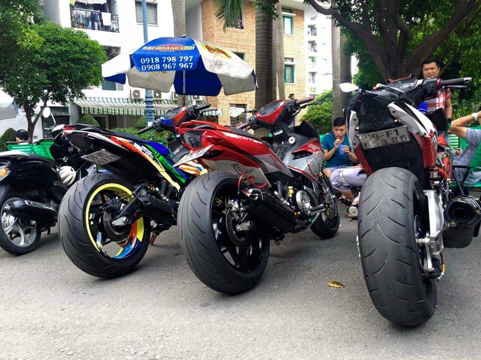 Tam ca Exciter 150 khoe mong cuc khung