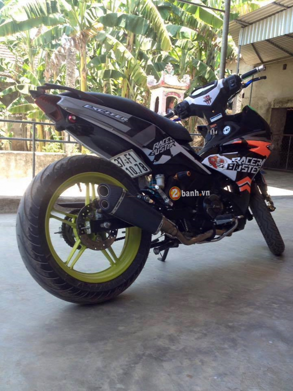Tem dau Racer Buster cho Exciter150