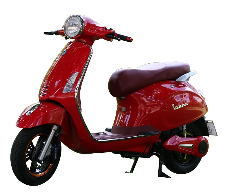 Xe May Dien VESPA PRIMA pha gia thi truong