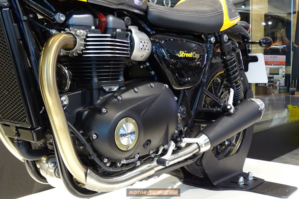 Ban TRIUMPH STREET CUP Dinh cao classic cua Triumph Motorcycles 2017 - 3