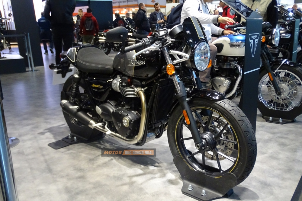 Ban TRIUMPH STREET CUP Dinh cao classic cua Triumph Motorcycles 2017 - 4