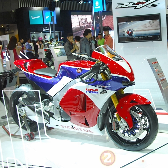 Clip Honda RC213VS can canh chi tiet mau xe 5 ty dong