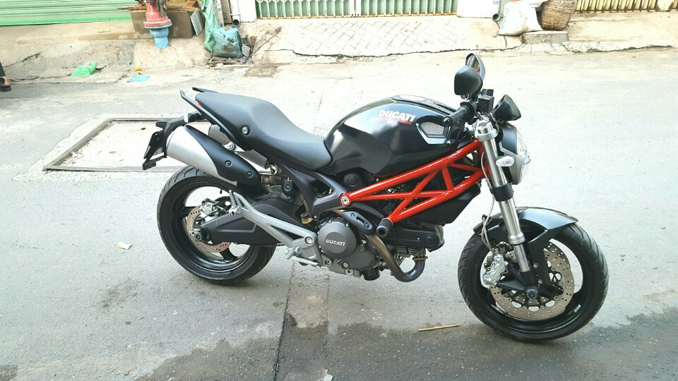 Ducati Monster 795 non ABS 2014