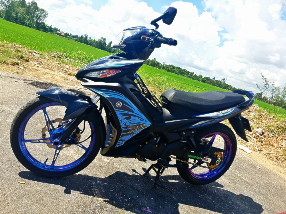 Exciter 135 don don gian nhung an tuong voi chi phi hop ly - 3