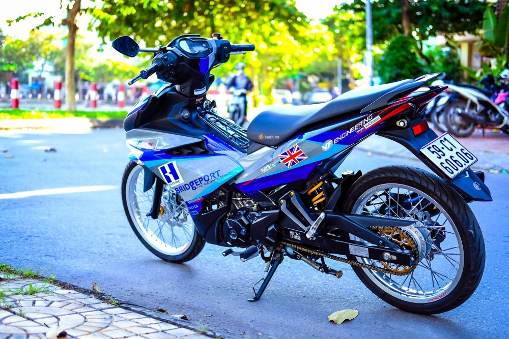 Exciter 150 day an tuong trong bo canh tem dau phong cach - 6