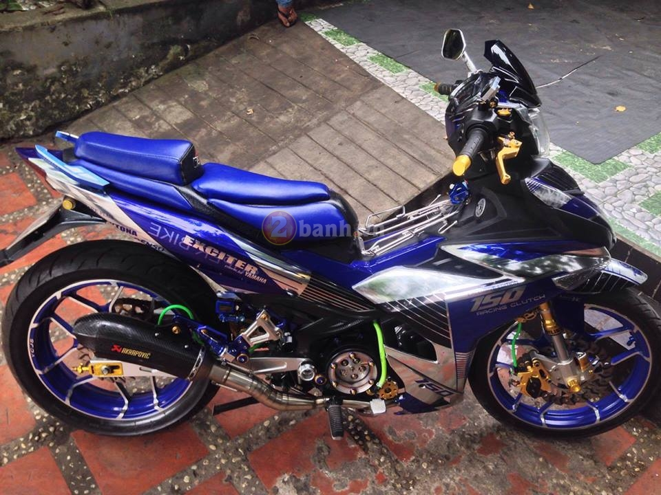 Clip Exciter 150 do max speed 155 kmh can canh chi tiet