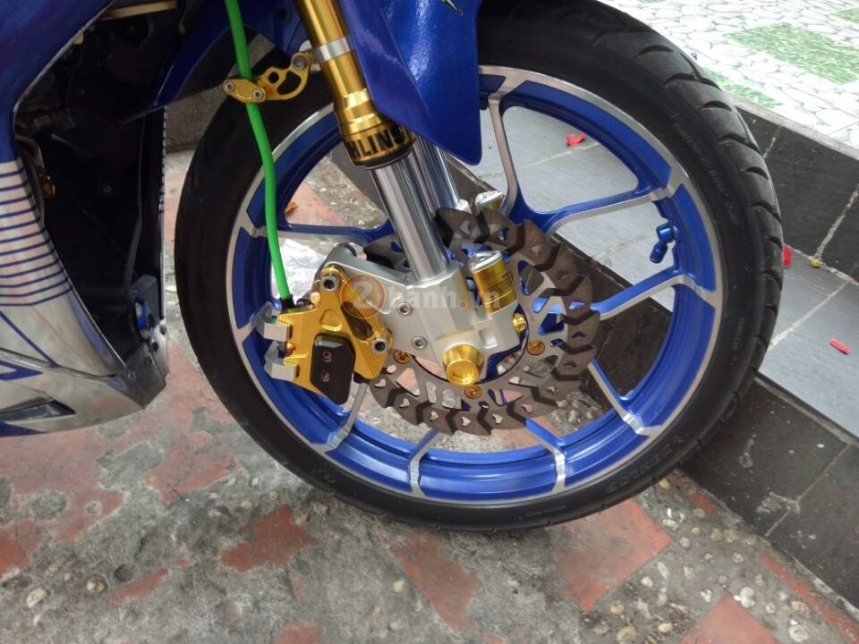 Clip Exciter 150 do max speed 155 kmh can canh chi tiet - 3