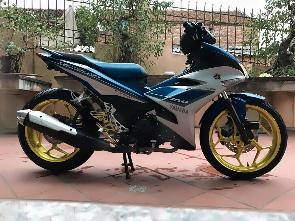 Exciter 150 trong ban do don gian nhung day pha cach
