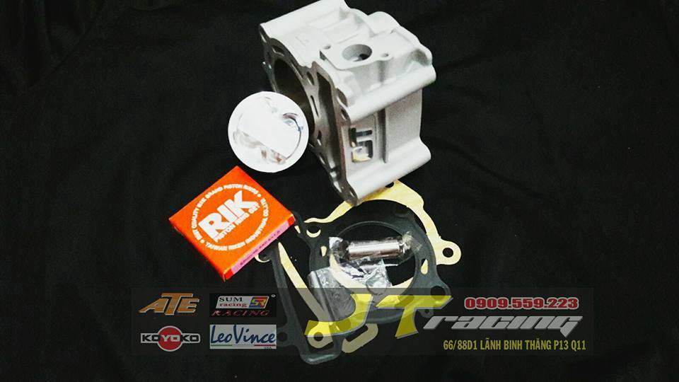 LONG KINH CIT 57mm Exciter 135 150 Fz150 Spark Spiner