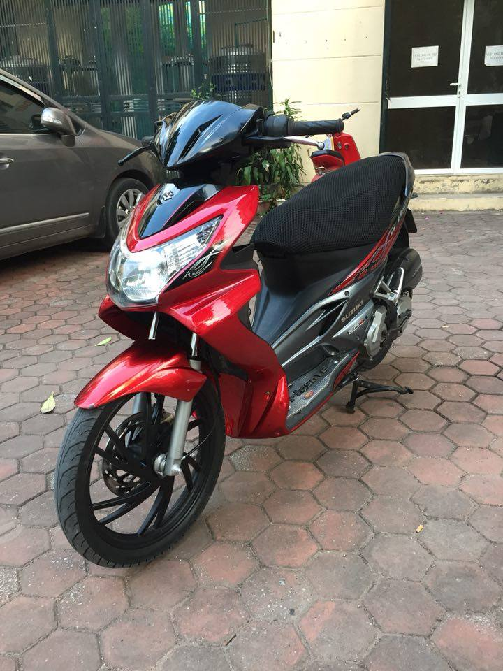 Suzuki Hayate 125 do den cuc chat bien HN doi 2009 ban 12tr