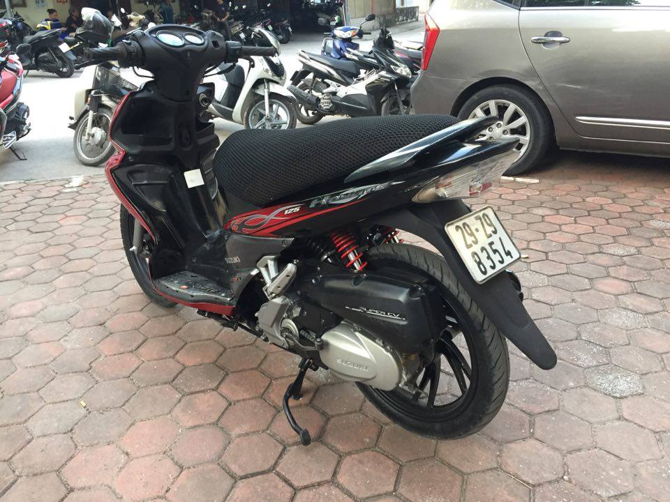 Suzuki Hayate 125 do den cuc chat bien HN doi 2009 ban 12tr - 3