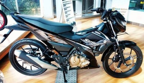 Suzuki Raider 150 Fi da co mat tai Dai Ly