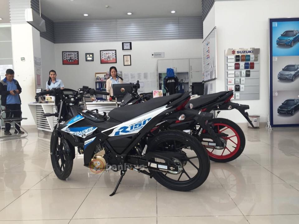 Suzuki Raider 150 Fi da co mat tai Dai Ly - 5