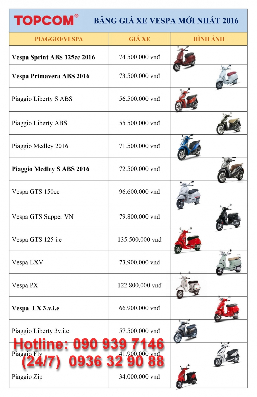 VESPA chinh hang gia tot nhat Update lien tuc - 26