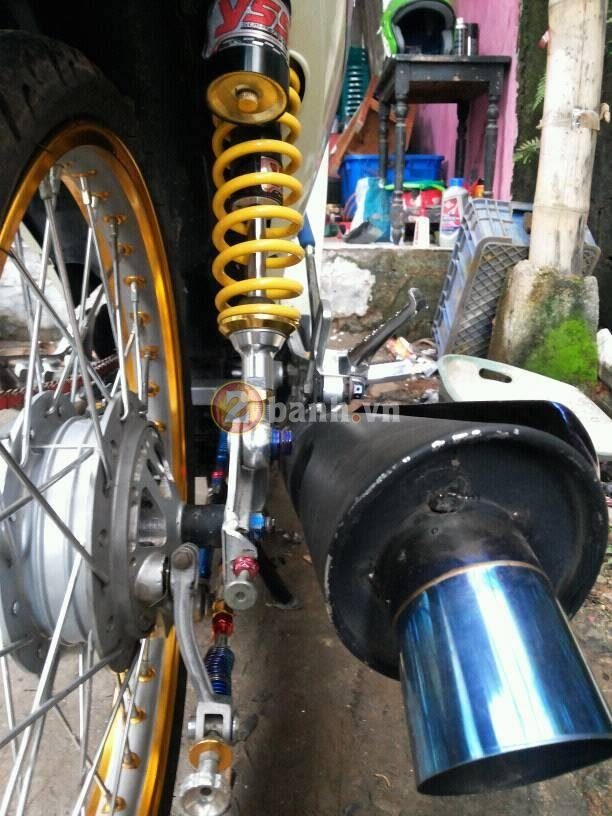 Wave 125i do mang trang suc Ohlins Brembo - 4