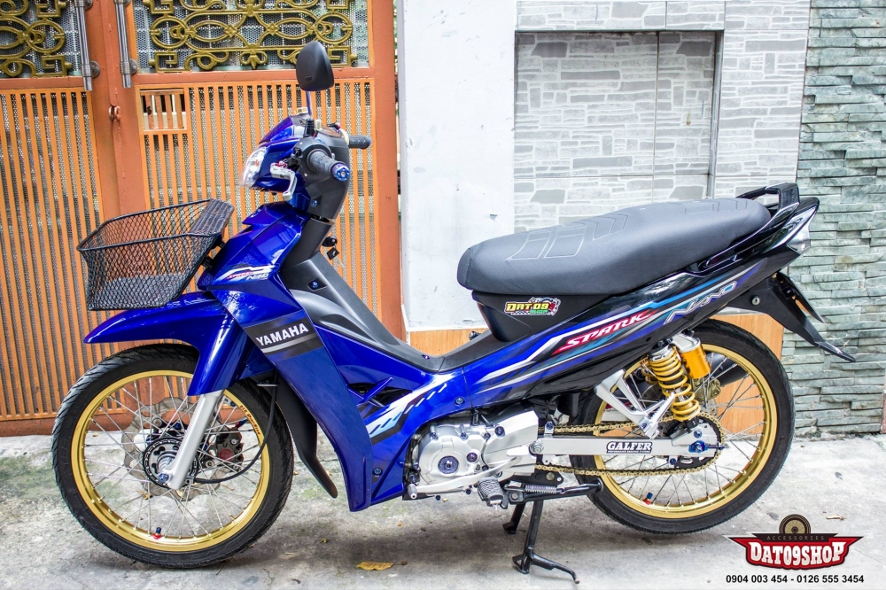 Yamaha Sirius ban do hang hieu dam chat Thai - 16