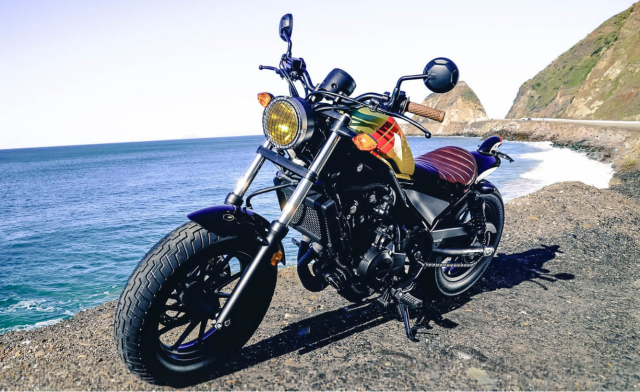 Honda Rebel 2017 noi loan voi phong cach California - 2