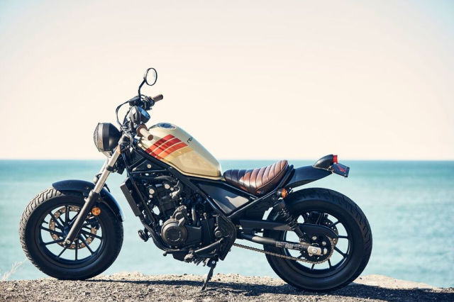 Honda Rebel 2017 noi loan voi phong cach California