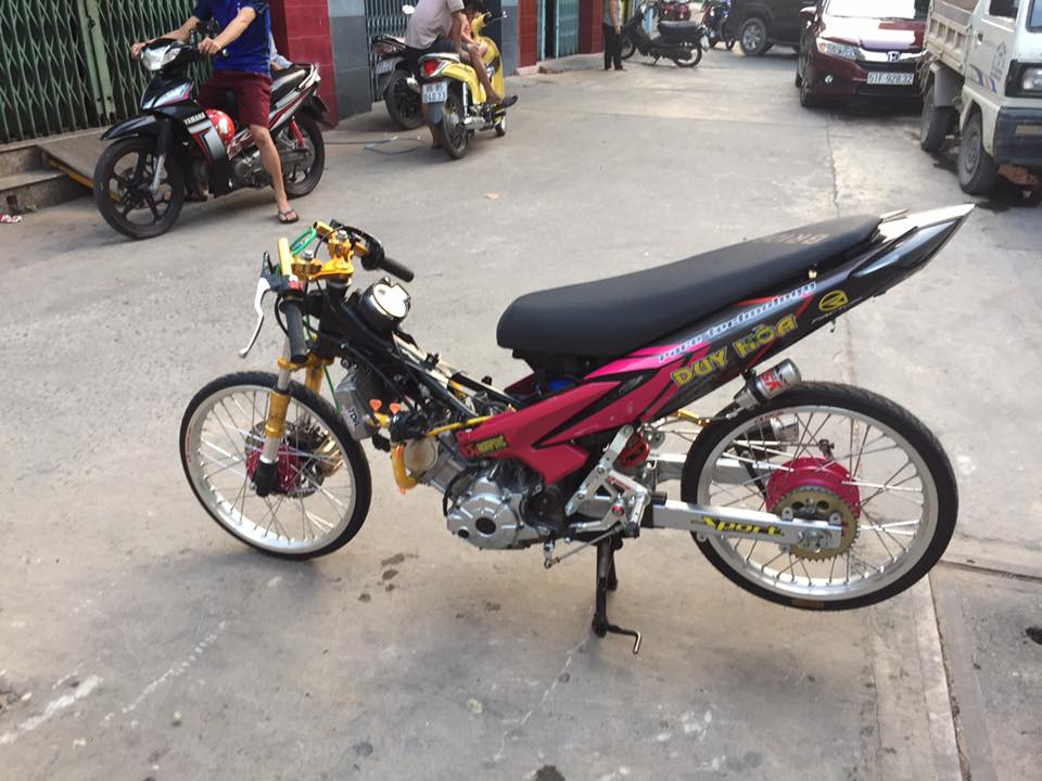 Exciter 135 drag style chay nhu bay