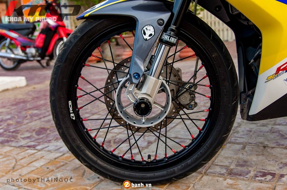 Can canh Exciter 150 ban do chat choi cua Biker An Giang - 3