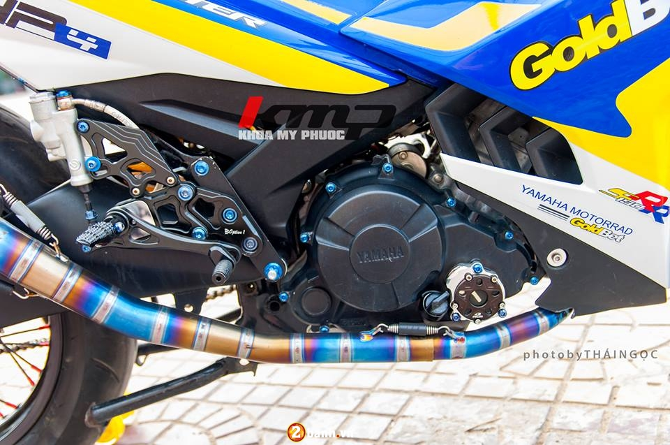 Can canh Exciter 150 ban do chat choi cua Biker An Giang - 4