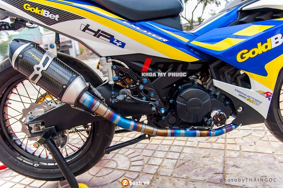 Can canh Exciter 150 ban do chat choi cua Biker An Giang - 6